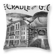 The Cradle Of The Gop Throw Pillow