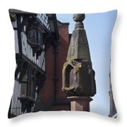 The Cross Chester Throw Pillow
