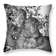 The Cross I Bear Throw Pillow