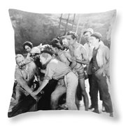 The Cup Of Life, 1915 Throw Pillow