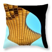 The Curves Of The Metropol Parasol Throw Pillow