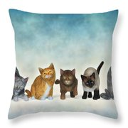 The Cute Ones Throw Pillow