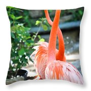 The Dance Throw Pillow by Elizabeth Hart