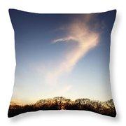 The Dancing Cloud Throw Pillow