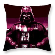 the Dark Side is Strong Throw Pillow