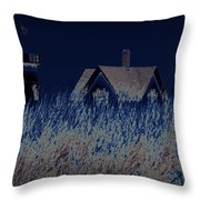 The Darkness Before The Dawn Throw Pillow