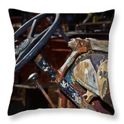 The Dashboard Throw Pillow