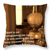 The Dawn Has Come Throw Pillow