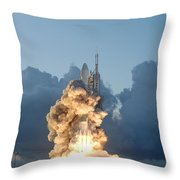 The Dawn Spacecraft Throw Pillow