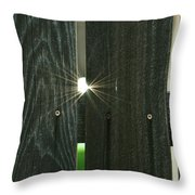 The Day Of The Flares Throw Pillow