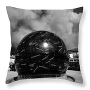 The Day The Stars Fell To Earth Throw Pillow by David Lee Thompson