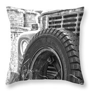 The Dead Work Truck Throw Pillow