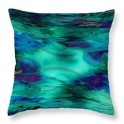 The Deep End Of The Ocean Throw Pillow