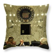 The Department Of Defense Address Throw Pillow