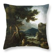 The Destruction Of Niobe's Children Throw Pillow
