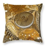 The Dome Of Hagia Sophia Throw Pillow