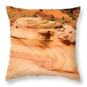 The Dragon At The Wave Throw Pillow