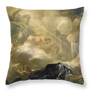 The Dream Of Solomon Throw Pillow