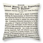 The Dred Scott Decision, 1857 Throw Pillow by Photo Researchers