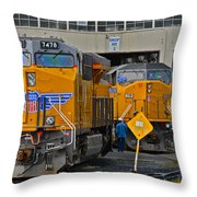 The Drop Pits Throw Pillow