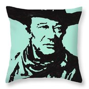 The Duke In Color Throw Pillow