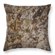 The Earliest And Only Known Murals Throw Pillow