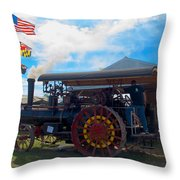 The Eclipse Getting Ready Throw Pillow