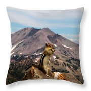The Edge Of Glory Throw Pillow