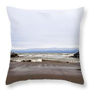 The Edge Of Mother Nature Throw Pillow