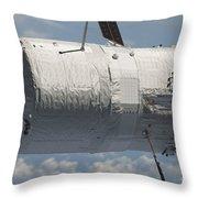 The Edoardo Amaldi Automated Transfer Throw Pillow