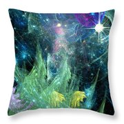 The Egregious Christmas Tree 1 Throw Pillow