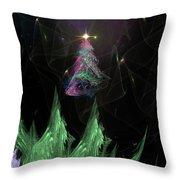 The Egregious Christmas Tree 2 Throw Pillow