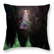 The Egregious Christmas Tree 3 Throw Pillow