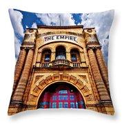 The Empire Theatre Throw Pillow