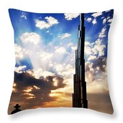 The End At Last Throw Pillow