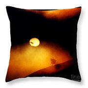 The End Of Reason Throw Pillow by Susanne Still