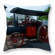 The End Of The Day For The Frick Throw Pillow