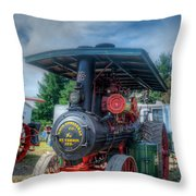 The End Of The Day For The Keck Throw Pillow