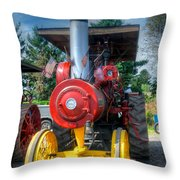 The End Of The Day For The Russell Throw Pillow