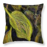 The End Of The Season Throw Pillow