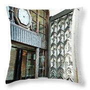 The Entranceway To Unilever House  Throw Pillow