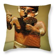 The Eye Of Hunger Throw Pillow