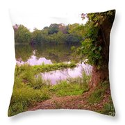 The Fae Throw Pillow