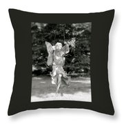 The Faery Swing Throw Pillow