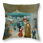 The Fairground  Throw Pillow