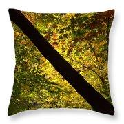 The Fall Split Throw Pillow