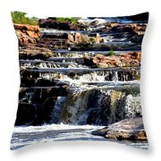 The Falls Throw Pillow