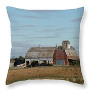 The Farm II Throw Pillow