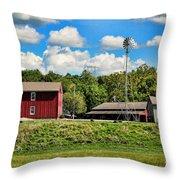 The Farmstead Throw Pillow