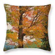 The Fay Tree Throw Pillow